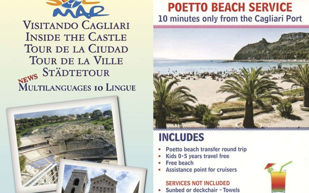 Transfer città di Cagliari e Poetto beach